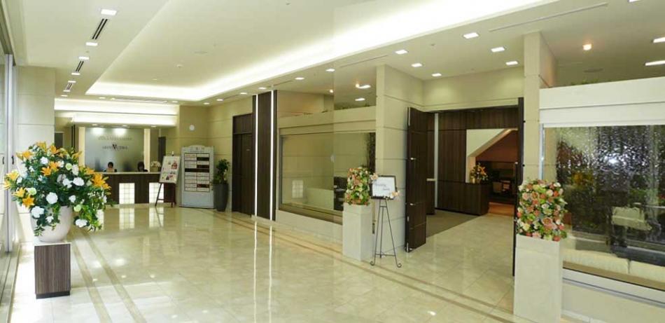 ホテルサンライフガーデン 1階ウエディングサロン