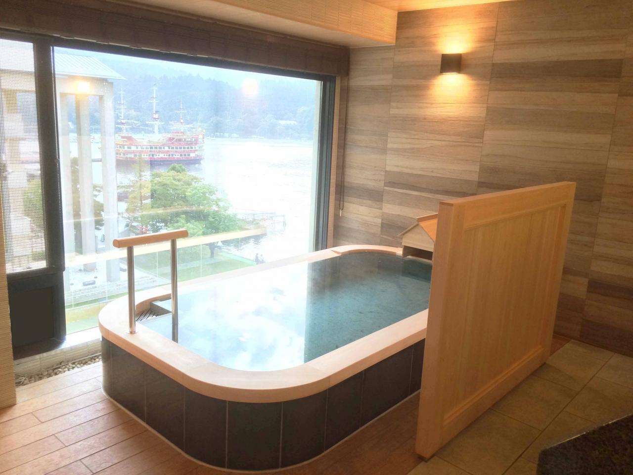 箱根ホテル 展望浴室-2